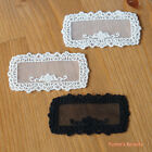 3pcs: Embroidered Net Lace Applique Name Label 3-color