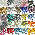 1440 Colors 2-6mm Crystal Bling Flatback Glass Rhinestone Scrapbook Nail Craft