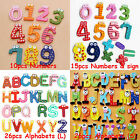 Cute Numbers Alphabet Fridge Magnet Refrigerator icons stickers Kids Toy