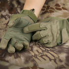 Mens Camping Tactical Gloves Outdoor Work Gloves Full-Finger Motorcycle Gloves