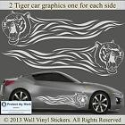Tiger Car Graphics Sticker Decal Van Custom BOTH SIDES