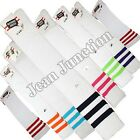 Thigh High Ladies Sport Football Referee Over Knee Socks Fancy Dress 15 colours