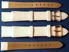 White Genuine Leather Watch Strap Band 8,10,12,14,16,18 SAME DAY Dispatch BETTER