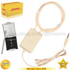 NEW Amplified Inductive Neckloop with Magnetic Micro earpiece cheat exam gsm