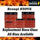 Bronpi Replacement Stove Glass - Heat Resistant