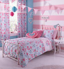 Hearts & Flowers Duvet Set Catherine Lansfield Polycotton Girls Pretty Bedding