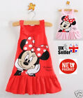New Minnie Mouse Costume Girls Toddler Baby Fancy Dress Outfit