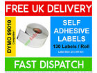 Dymo Seiko Compatible Self adhesive Labels - ALL TYPES - FAST FREE UK SHIPPING