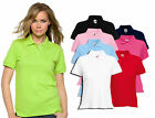 Womens Fruit of The Loom Lady-Fit Polo T Shirt, 7 tshirt colours
