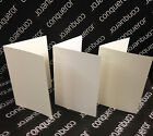 PRE SCORED 300GSM CONQUEROR CARD BLANKS   DIY WEDDING STATIONERY / CARD MAKING