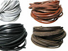 Genuine Leather Lace. Shoe Laces  White, Black, Red, Brown, Tan 1 Metre Length