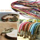5m Faux Suede Cord Leather Lace 3mm For Thread Bracelet Necklace DIY Rope String