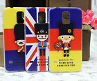 Fashion Handsome Imperial Guards Hard Cover Case For Samsung Galaxy S5 i9600