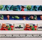 2mtrs MONSTERS INC, TOY STORY or THE MUPPETS RIBBON 22-25mm (cake, craft, bows)