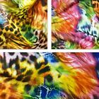 Animal Digital Printed Stretch Polyester Scuba Fabric - 3 Colours *Per Metre*