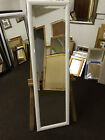 SHINY/GLOSS WHITE LONG AND FULL LENGTH DRESSING MIRRORS -VARIOUS SIZES AVAILABLE