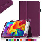 "Folio Leather Case Stand Cover for Samsung Galaxy Tab 4 8 8.0"" SM-T330NU Tablet"