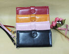 Fashion Lady PU Leather Bifold Card Holder Clutch Bag Wallet for iPhone 4 5 S3 4