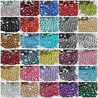 4mm 1000-10000 PCS sparkling Resin Rhinestone Flatback  14 Facets Crystal