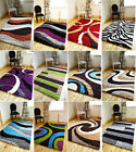 MEDIUM X LARGE THICK SOFT LUXURIOUS COLOURFUL SHAGGY PILE AREA RUG HALL MAT