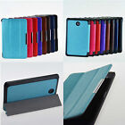 High Quality Tri-Fold Folio Magnetic Leather Case Smart Cover for Dell Venue 7