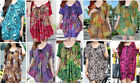 Womens Plus Size KAFTAN TOP Large Tshirt Dress One Sizes to fit 14-22 BRAND NEW!