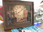 """Back to the Future - Doc and Marty Clock - Prop - 8.5"""" x 11"""" Sepia"""