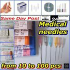 Large Needles, Medical Sterile Injectable all sizes, Hypodermic,Syringes and mor