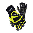 Deep Grip FuIl impact-Protection Cut/Oil Resistant Safety Work Gloves M~XL size