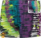 NEW Asics Women's Brushed Strokes Spandex Volleyball Shorts BT2013, Sizes 2XS-XL