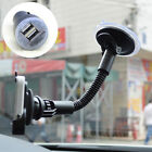 Dedicated Gooseneck Holder Dual USB Car Charger For 4s 5s 5c Galaxy S2 S3 S4 S5