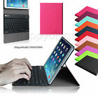 Folio Slim Magnetic Case Removable Bluetooth Keyboard Cover for iPad mini 1/2/3