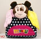 "7"" Childrens Kids Walt Disney Micky Mouse With Wings Plush Backpack School Bag"