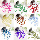 1000pcs 4.5mm 6.5mm 8mm 10mm Diamond Confetti Wedding Table Scatter Decorations