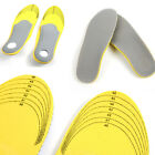 1Pair Men/Women Comfortable Orthotic Shoes Insoles Inserts High Arch Support Pad