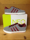 Men's Adidas NEO SE Daily Vulc Grey Suede Lifestyle Fashion Shoes F76221 Sz 8-13
