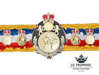 SILK THAI BOXING CHAMPIONSHIP TITLE BELT - OTHER SPORTS & COLOURS AVAILABLE