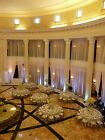 """wedding or home drapes  56""""wide white, ivory or black  Voile , length to choose"""