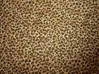 BASSINET SHEET/ LEOPARD PRINTS IN FLANNEL OR COTTON - 4 COLORS TO CHOOSE FROM