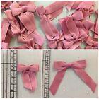 COTTON BOWS (DUSKY PINK), SMALL AND LONG TAIL | £4 PER 50