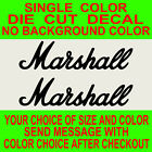 New York Home Decor Store 2x Marshall Amps, Vinyl Decal Die Cut, Car, Truck, Window Sticker Home Decor Ceiling Fans
