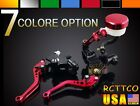 CNC Brake Clutch Levers Fluid Reservoir Universal For Kawasaki KTM All Aluminum