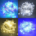 100 200 300 400 500 LED String Fairy Lights Garden Christmas Outdoor Indoor