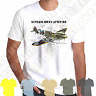 WW2 RAF Griffon Spitfire front facing Allied fighter plane printed mens tshirt