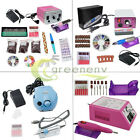 Professional Electric Nail File Drill Acrylic Manicure Pedicure Machine Set kit