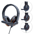 Coolex X10 Computer PC Laptop GAMING Headphone Headset with Microphone Mic