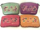 PUERTO RICO BUTTERFLY ZIP COIN PURSE KEY CHAIN SOUVENIRS ASSORTED COLORS