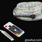 RGB LED strip mini controller 24 key remote waterproof adhesive backing DC 9-12V