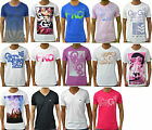 Mens Designer Casual Crew Neck Short Sleeve Gio Goi Printed T Shirt Top Tee S-XL