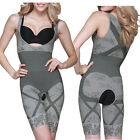 Womens Bamboo Slimming Corset Body Shaper Suit Firm Control Underwear Shapewear